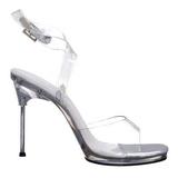 Transparent 11,5 cm CHIC-06 Högklackade skor med stilettklack
