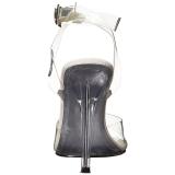 Transparent 11,5 cm GALA-06 Högklackade skor med stilettklack