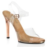 Transparent 11,5 cm GALA-08 Bikini posing high heel shoes fabulicious