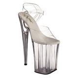 Transparent 23 cm Pleaser INFINITY-908 High Heels Platform