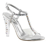 Transparent Crystal 11,5 cm CLEARLY-426 High Heeled Evening Sandals