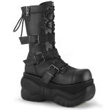 Vegan 10 cm BOXER-230 demonia boots - unisex cyberpunk boots