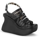 Vegan 11,5 cm Demonia PACE-33 lolita sandaler med plat�