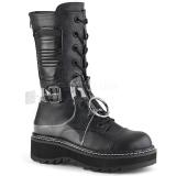 Vegan 3 cm LILITH-271 demonia ankle boots platform