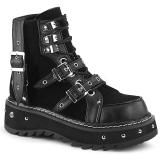 Vegan 3 cm LILITH-278 demonia ankle boots platform