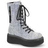 Vegan 5 cm EMILY-362 demonia boots platform