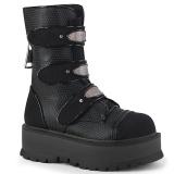 Vegan 5 cm SLACKER-101 demonia ankle boots platform