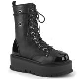 Vegan 5 cm SLACKER-150 demonia ankle boots platform