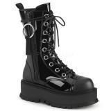 Vegan 5 cm SLACKER-220 demonia ankle boots platform