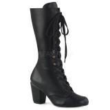 Vegan 7,5 cm VIVIKA-205 Victorian ankle boots