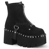 Vegan 9 cm ASHES-100 demonia ankle boots platform