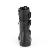 Vegan BOLT-265 demonia ankle boots - unisex combat boots