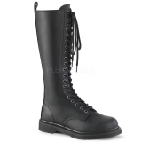Vegan BOLT-400 demonia boots - unisex combat boots