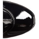 Vinyl 18 cm ADORE-2000 womens boots high heels