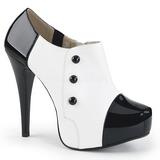 White Patent 13,5 cm CHLOE-11 big size pumps shoes
