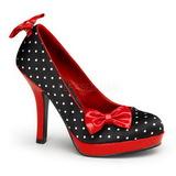 White Points 12 cm SECRET-12 Pumps Women Shoes Heels