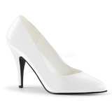 White Shiny 10 cm VANITY-420 Pumps High Heels for Men