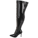 Wide Calf 13 cm DOMINATRIX-3024X Overknee Boots