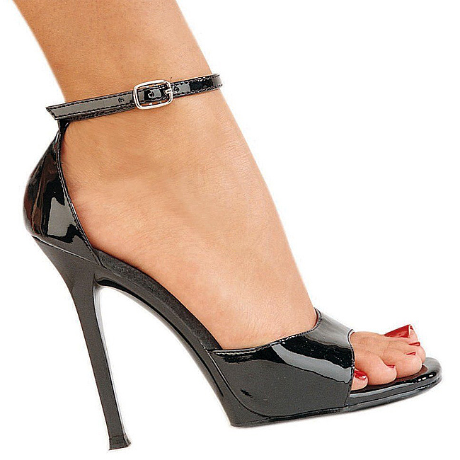 Pleaser GALA-36 högklackade sandaler i lackläder storlek 36 - 37