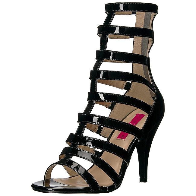 Pleaser DREAM-438 kvinnor skor för stora fötter i svart storlekar 43 - 44